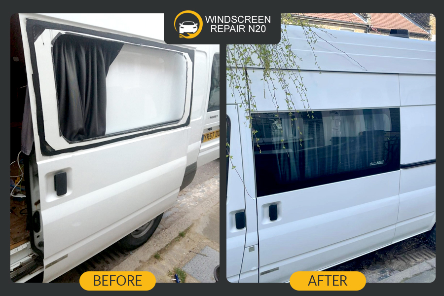benz side window replacement