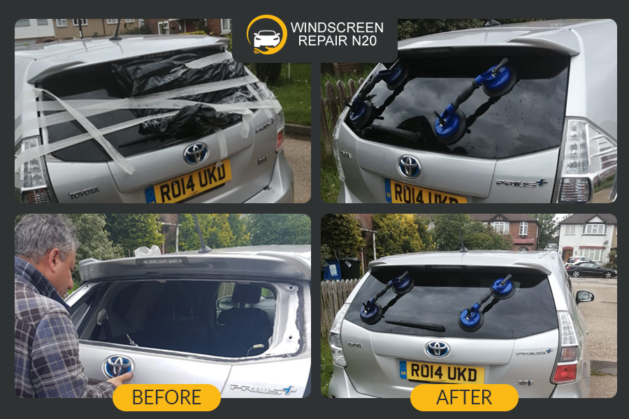rear glass replacement in london