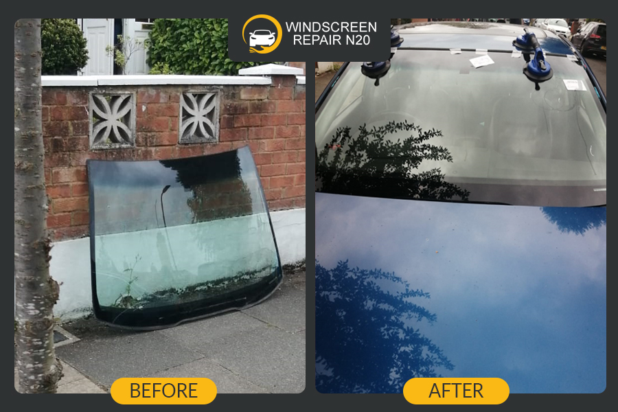 auto glass replacement in london