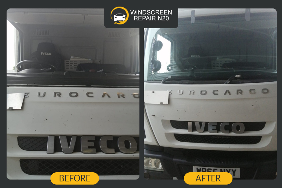IVECO truck windscreen replacement