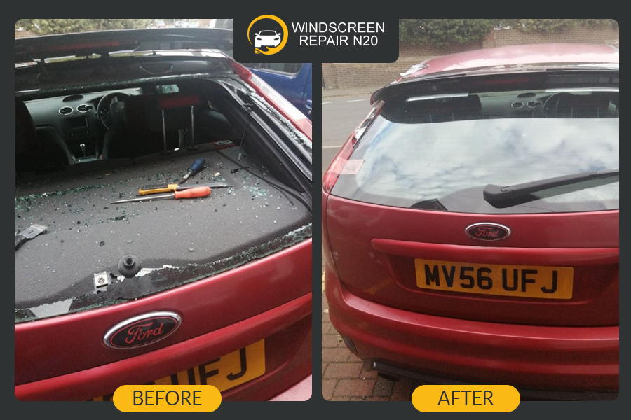 ford rear window replacement in London